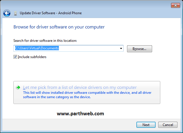 install android usb drivers