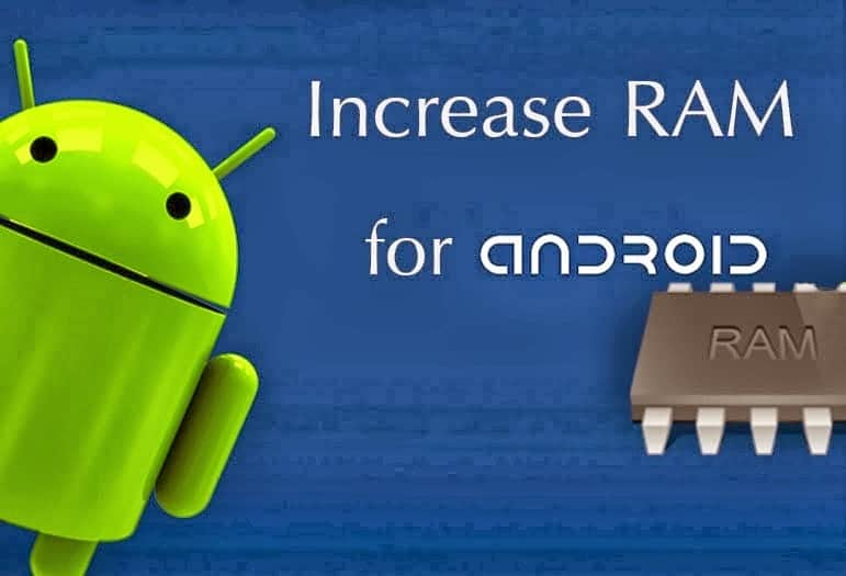 increase ram in android using sd card