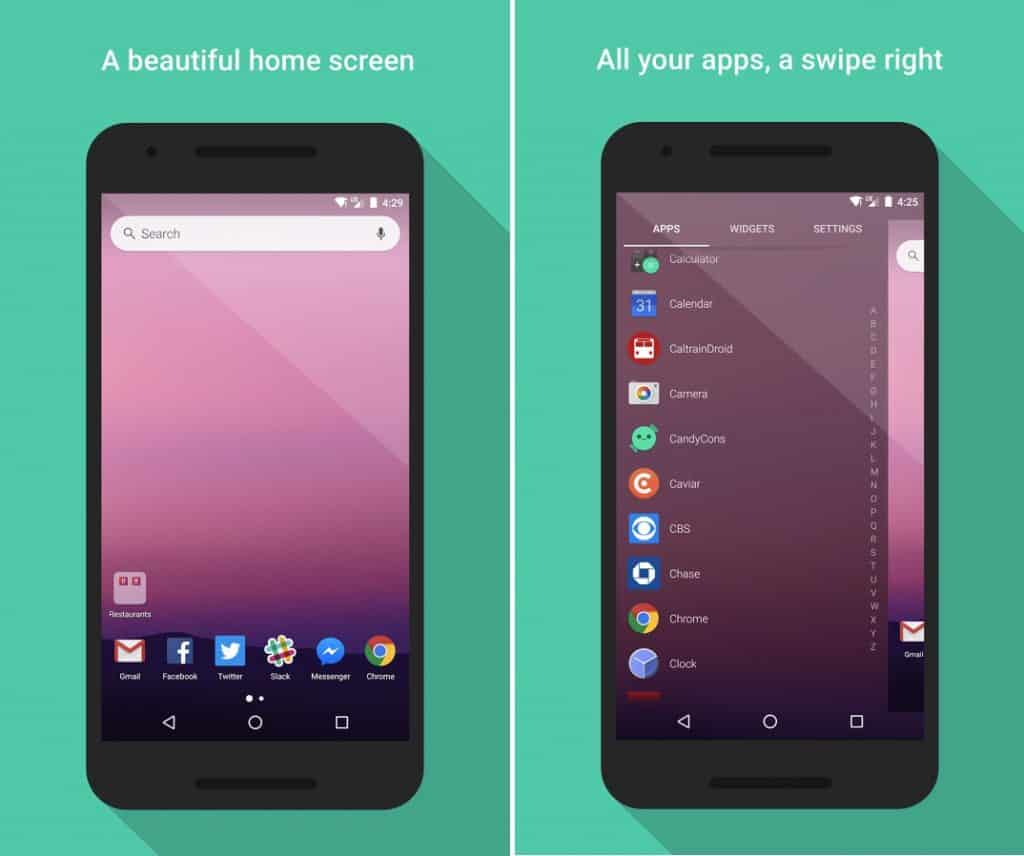 evie launcher for android 1