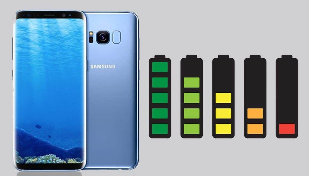 fix samsung s8 battery issues