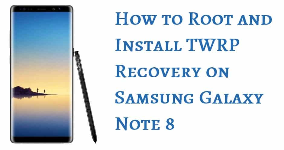 Root samsung note 8