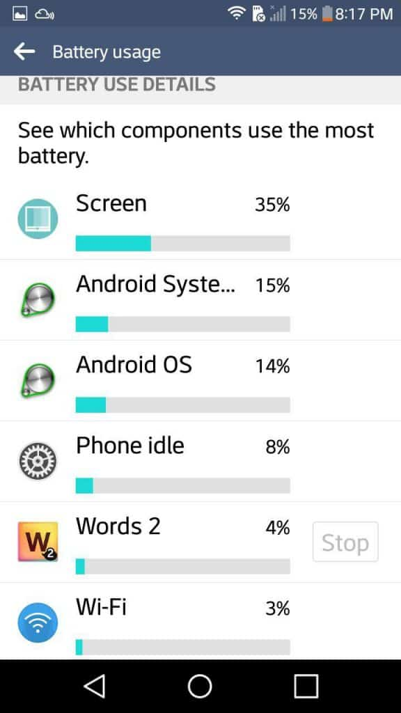 improve Android battery life, battery life