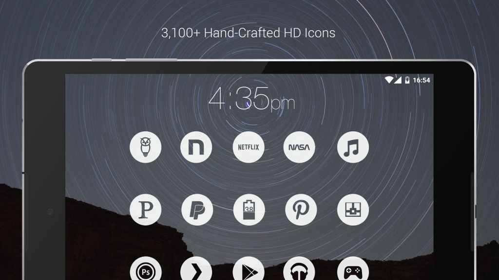 Light Void theme and icon pack