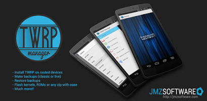 install TWRP recovery manager