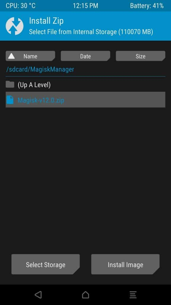switch from supersu to magisk, magisk ZIP file, magisk manager